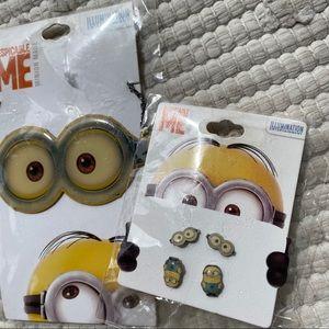 Minion Jewelry Set